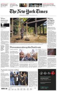 International New York Times - 28 February 2017