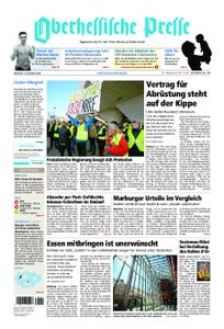 Oberhessische Presse Marburg/Ostkreis - 05. Dezember 2018