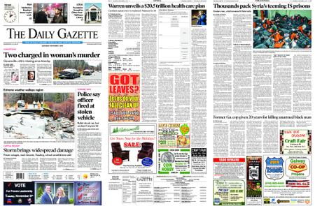 The Daily Gazette – November 02, 2019