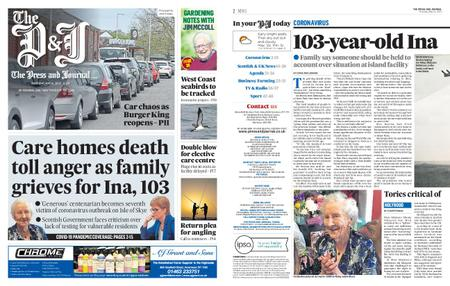 The Press and Journal Moray – May 14, 2020