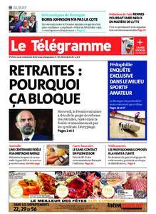 Le Télégramme Auray – 12 décembre 2019
