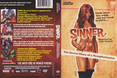 Sinner: The Secret Diary of a Nymphomaniac (1973) [Mondo Macabro] [ReUP 2018]