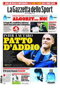 La Gazzetta dello Sport Roma – 06 giugno 2020