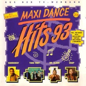 VA - Maxi Dance Hits 93 (1993)