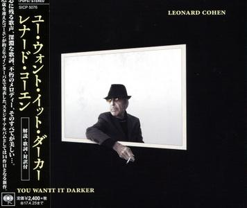 Leonard Cohen - You Want It Darker (2016) {Japanese Edition}