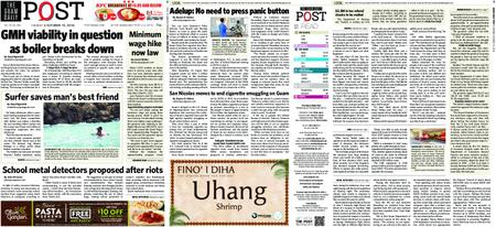 The Guam Daily Post – October 15, 2019