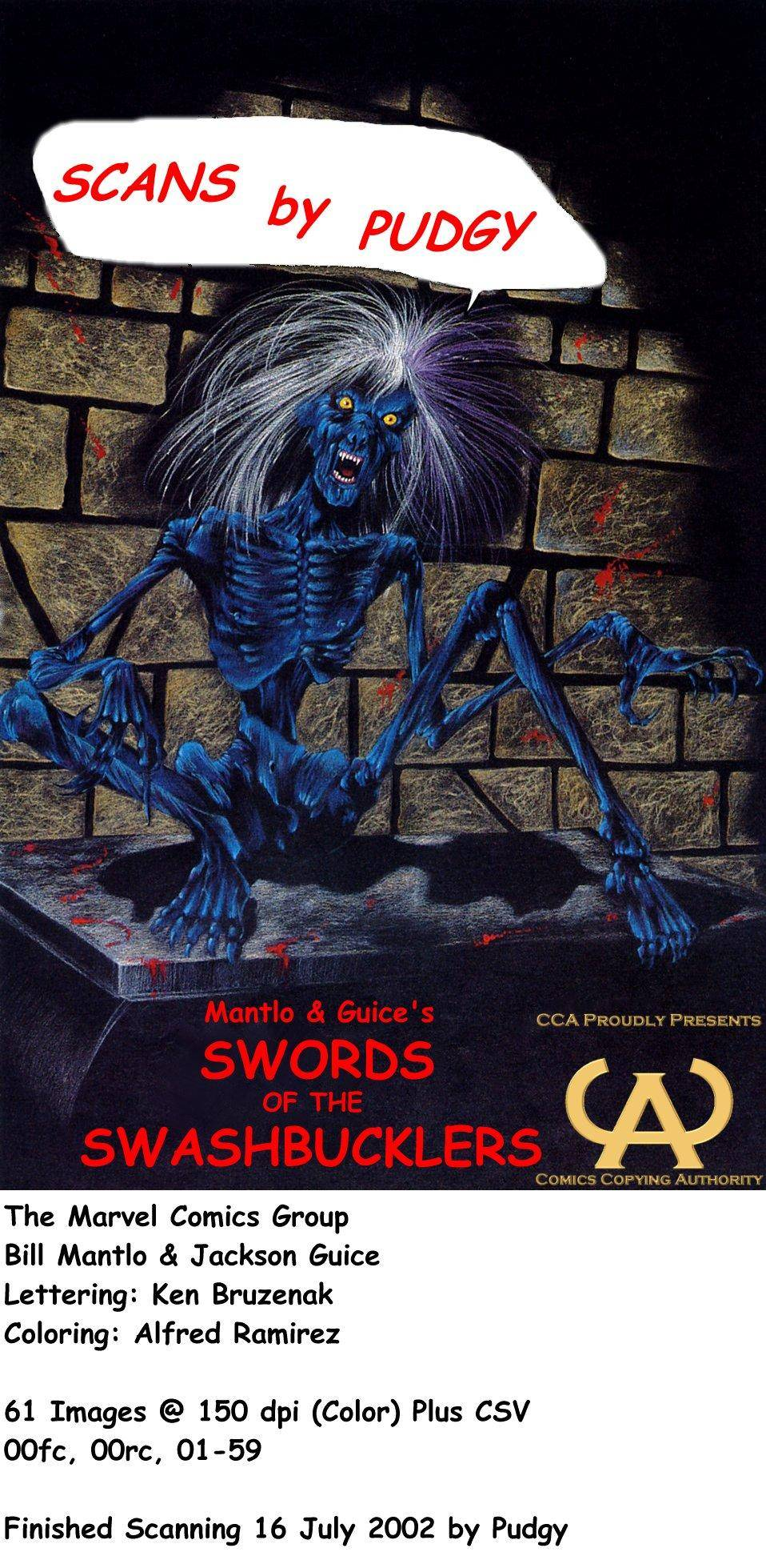 Marvel Graphic Novel 14 - Swords of the Swashbucklers 1984