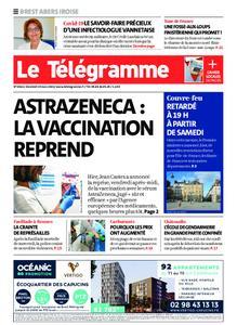 Le Télégramme Brest Abers Iroise – 19 mars 2021