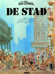 Stripromans/Stripromans 01 De Stad 01 N Y City
