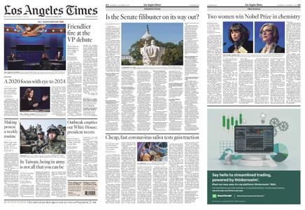 Los Angeles Times – October 08, 2020