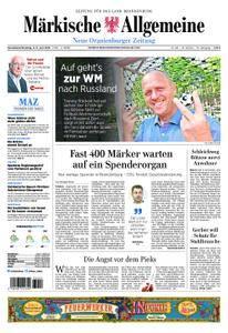 Neue Oranienburger Zeitung - 02. Juni 2018
