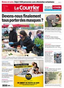 Le Courrier de l'Ouest Angers – 05 avril 2020