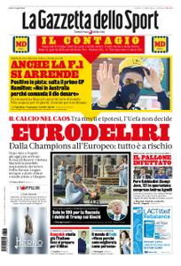 La Gazzetta dello Sport Bergamo – 13 marzo 2020