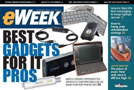 eWeek Magazine 1 Dec 2008