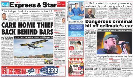 Express and Star City Edition – November 29, 2017