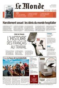 Le Monde du Samedi 28 Octobre 2017