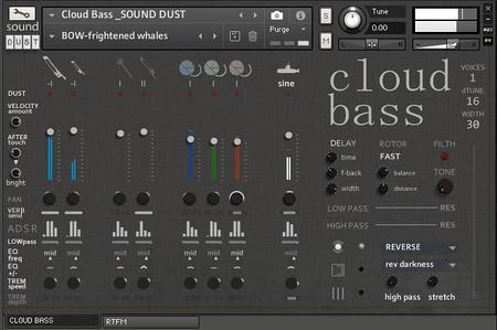 Sound Dust Cloud Bass KONTAKT