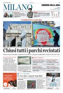 Corriere della Sera Milano – 14 marzo 2020