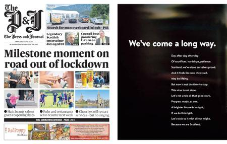 The Press and Journal Moray – July 10, 2020