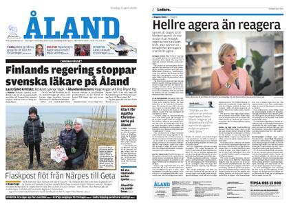 Ålandstidningen – 08 april 2020