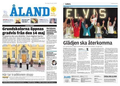 Ålandstidningen – 30 april 2020