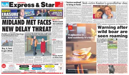 Express and Star Sandwell Edition – April 20, 2019