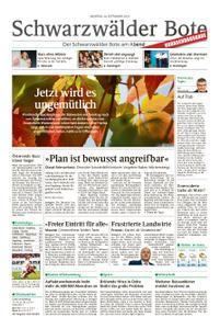 Schwarzwälder Bote Hechingen - 30. September 2019