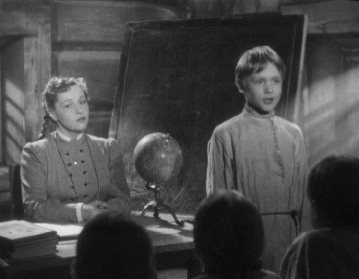 Selskaya uchitelnitsa / The Village Teacher (1947)