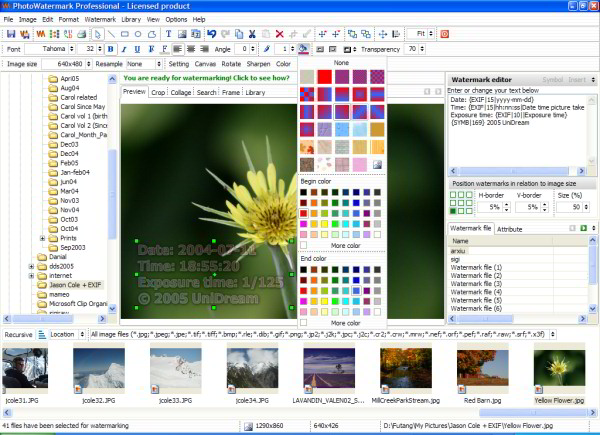 PhotoWatermark Pro ver. 6.1.34