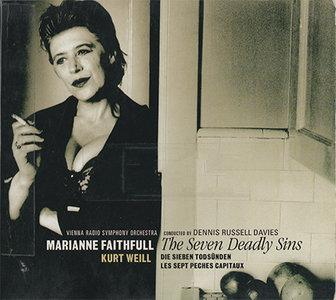 Kurt Weill - Marianne Faithfull - The Seven Deadly Sins (1998, RCA Victor # 74321 601192) [RE-UP]