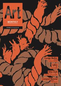Art Monthly - September 2016   No 399