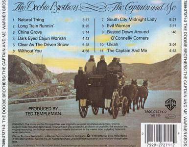 The Doobie Brothers - The Captain And Me (1973)
