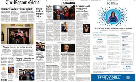The Boston Globe – October 02, 2019