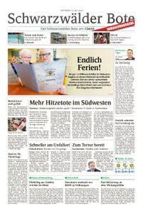 Schwarzwälder Bote Sulz - 25. Juli 2018