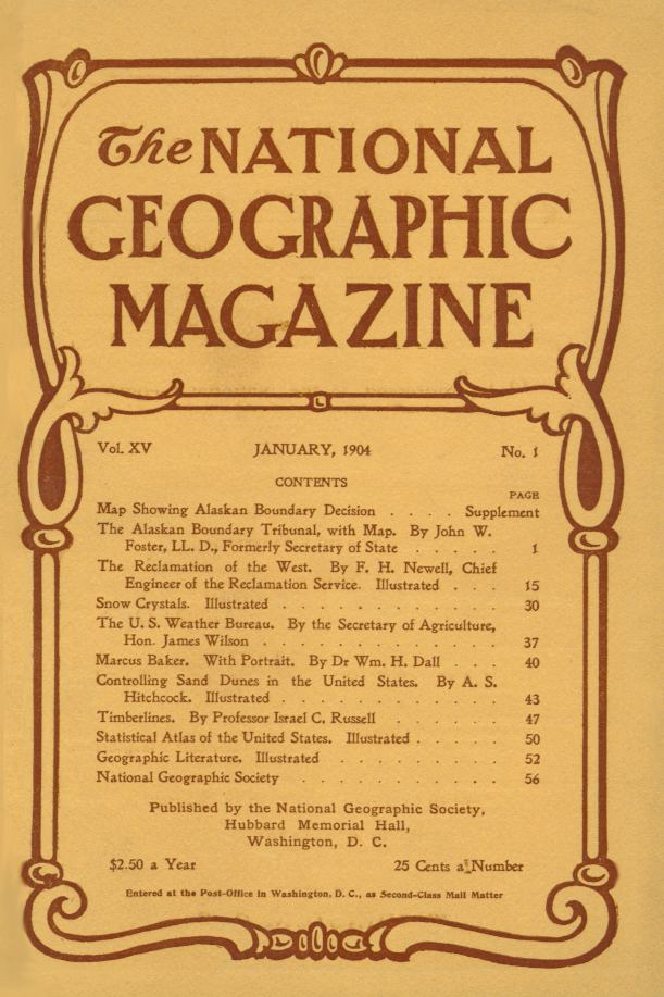 National Geographic 1904
