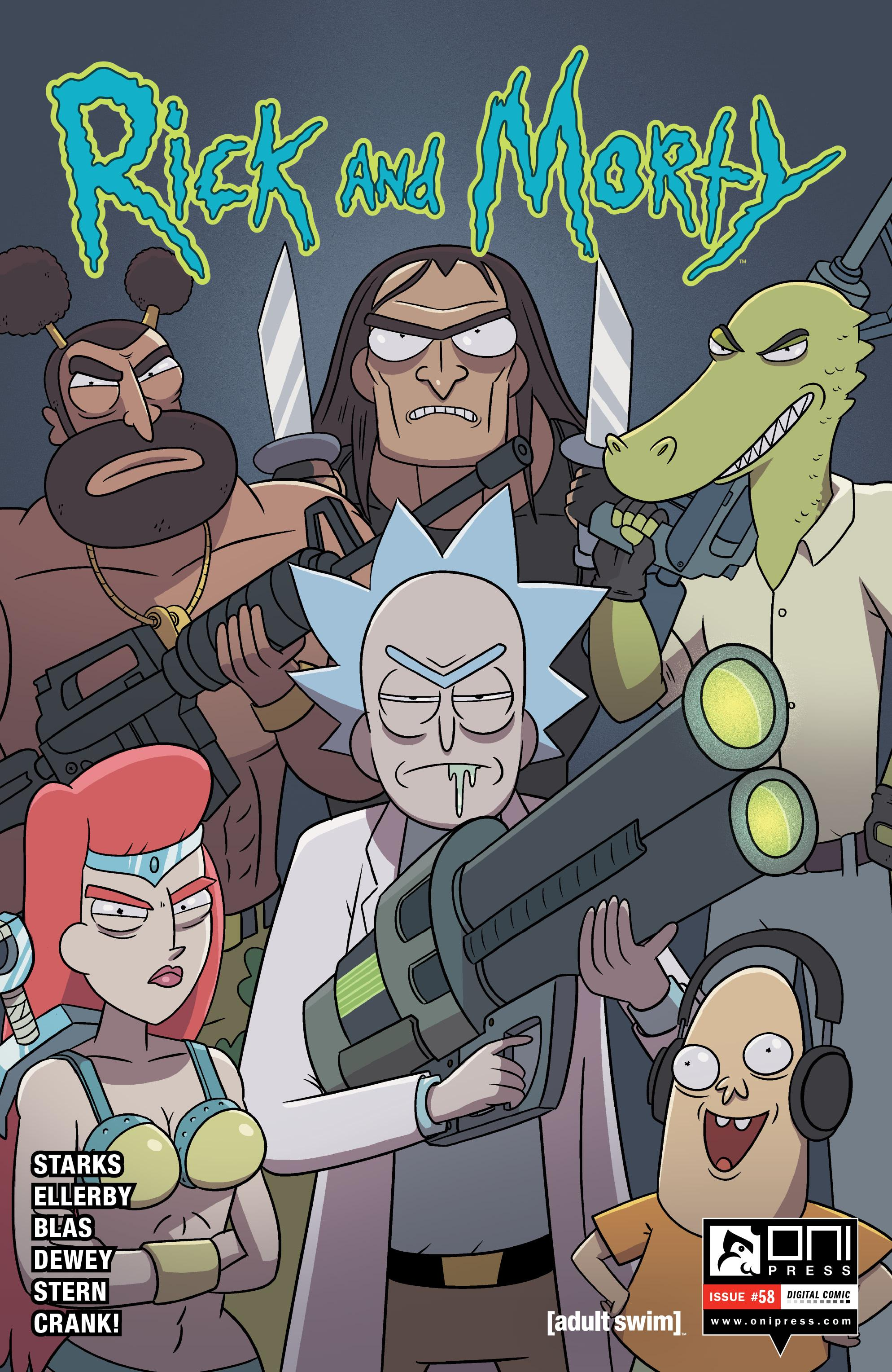 Missing Morty ;) - File 1 of 1 - yEnc Rick and Morty 058 (2020) (Digital) (DrDoom-Empire