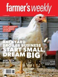Farmer's Weekly - 21 August 2020