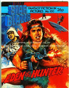 Starblazer 180 (1986) - eden the hunter 0 (pdfrip