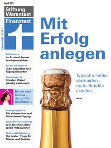 Finanztest No. 04 - April 2017
