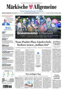 Neue Oranienburger Zeitung - 01. November 2017