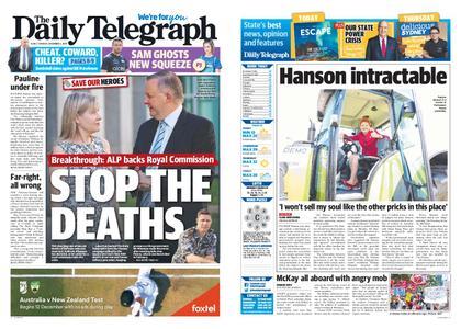 The Daily Telegraph (Sydney) – December 03, 2019