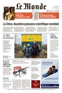 Le Monde du Samedi 7 Avril 2018
