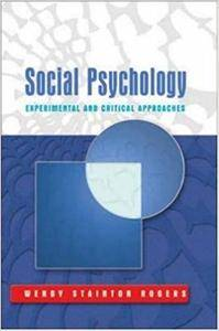 Social Psychology: Experimental and Critical Approaches (Repost)