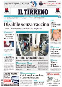 Il Tirreno Livorno - 31 Marzo 2021