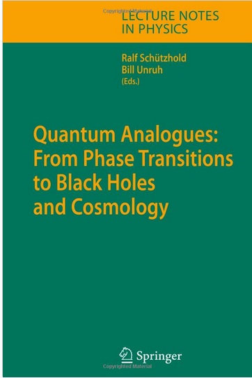 Quantum Analogues: From Phase Transitions to Black Holes and Cosmology