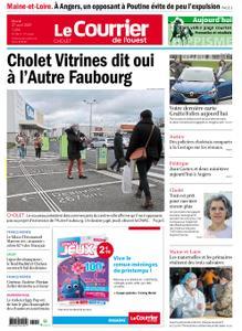 Le Courrier de l'Ouest Cholet – 27 avril 2021