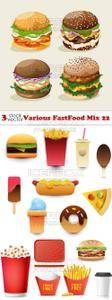 Vectors - Various FastFood Mix 22