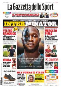 La Gazzetta dello Sport Roma – 20 agosto 2020