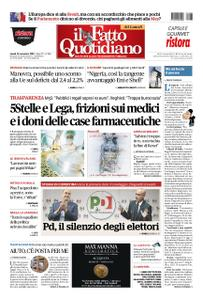 Il Fatto Quotidiano - 26 novembre 2018