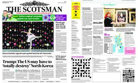 The Scotsman – September 20, 2017